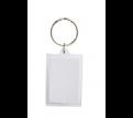 Blank Square Insert Key Ring