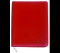Red Debden A4 Zippered Portfolio