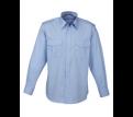 Men's Epaulette Long Sleeve Shirt