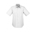 Men's Epaulette Short Sleeve Shirt