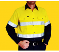 Hi Vis 2 Tone Long Sleeve Shirt