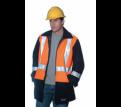 Spanner Hi Vis Wool Blend Jacket