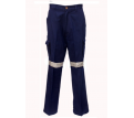 Heavy Weight Cotton Cargo Pants with 3M R/T