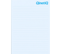 A4 Note Pad - 1 Colour - 50 Sheets