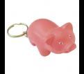 Stress Pig Key Ring