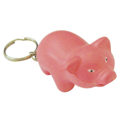 Stress Pig Key Ring