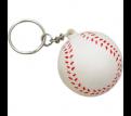 Stress Baseball Key Ring