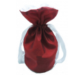 Drawstring Santa Sack - Satin Fabric Promotional Products
