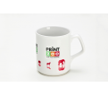 Dye Sublimated A'Flare Coffee Mug Promotional Products