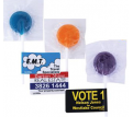 Assorted Coloured Lollipop with Flag