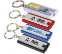 Digital Printed Rectangular Flashlight Keytag