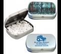 Surgar Free Breath Mints in Silver Tin