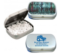 Digital Printed Silver Tin including Sugar Free Mints