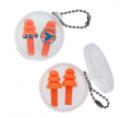 Silicone Earplug Key Chain