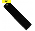 Velour Triple Fold Golf Towel inc Carribener