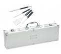 Stainless Steel BBQ Set in Case