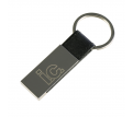Hudson Leather Keyring