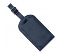 Coloured Luggage Tag Split Leather