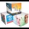 Stuk Note Cubes 50 x 50mm - 4 Colour Print