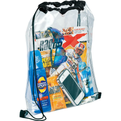 Rally Clear Cinch Backsack