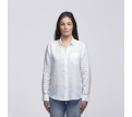 smpli Womens White Linen Shirt