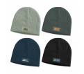 Nebraska Cable Knit Beanie with Patch