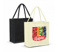 Monza Jute Tote Bag - Colour Match