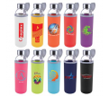 Capri Glass Bottle with Neoprene Sleeve - 570ml
