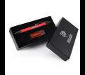 Style Gift Set - Orlando Mirror Finish Pen and Swivel Flash Drive
