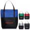 Crosshatch Tote Bag with Pocket