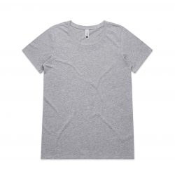WO'S SHALLOW SCOOP TEE