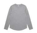 WO'S CURVE L/S TEE