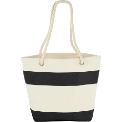 Capri Stripes Cotton Tote