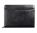 Renaissance Zippered Bonded Leather Padfolio