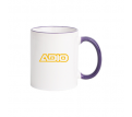 300ml Halo Mug Purple/Red