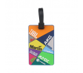 Custom Shaped PVC Luggage Tag