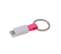 Magnetic Charging Cable with Keyring