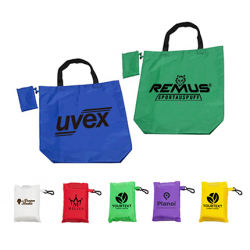 Foldaway Shopping Bag With Clip