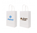 Twisted Handle Kraft Paper Bag(220x280x110mm)
