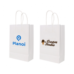 Twisted Handle Kraft Paper Bag(260x330x120mm)