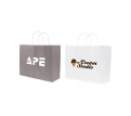 Twisted Handle Kraft Paper Bag(320x250x120mm)