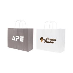 Twisted Handle Kraft Paper Bag(320x250x120mm)