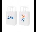 Flat Handle Kraft Paper Bag(175x240x110mm)