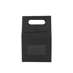 Die cut Handle Bag with Window(100x160x60mm)