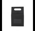 Die cut Handle Bag with Window(135x200x75mm )