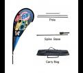 Large(109*388cm) Teardrop Banners