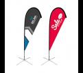 Medium(97*300cm) Teardrop Banners