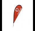 Small(75*190cm) Teardrop Banners