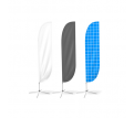 Small(65.3*200cm) Convex Feather Banners
