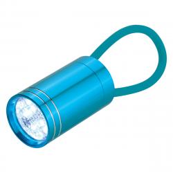 Glow in the Dark Aluminium LED Torch